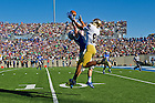 Oct. 26, 2013; Wide receiver Corey Robinson (88) catches a pass for a touchdown against Air Force.