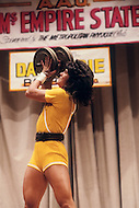 New York, June 20, 1981. Cammie Lusko special award winner at the Ms. Empire State competition.
