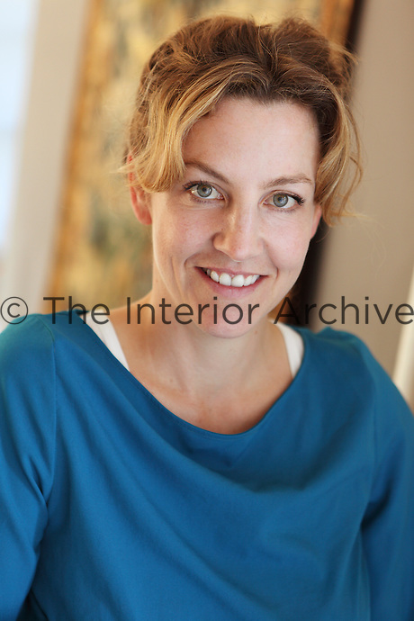 Portrait of VSP Interiors co-founder Henriette von Stockhausen in her Dorset home.