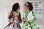 June 25, 2006 - Dancers with their awards from the Feis, the Irish Step Dance Competition at The Great American Irish Fair in Irvine, CA
