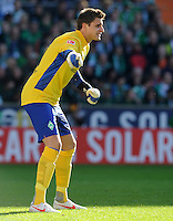 FUSSBALL   1. BUNDESLIGA   SAISON 2011/2012   27. SPIELTAG SV Werder Bremen - FC Augsburg                        24.03.2012 Sebastian Mielitz (SV Werder Bremen)