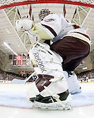 Parker Milner (BC - 35) - The Boston College Eagles defeated the Providence College Friars 4-1 on Tuesday, January 12, 2010, at Conte Forum in Chestnut Hill, Massachusetts.