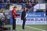 VOETBAL: CAMBUURSTADION: LEEUWARDEN: 03-11-2013, Cambuur-Feyenoord, uitslag 0- 2, Dwith Lodeweges, ©foto Martin de Jong