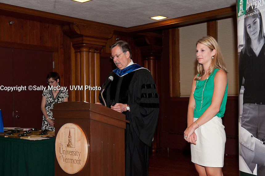 UVM College of Nursing and Health Sciences Honors Day 2012, CNHS.