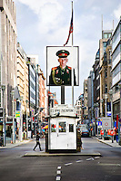 Checkpoint Charlie was the American name given to the best-known crossing point of the Berlin Wall, between East and West Berlin in Germany.