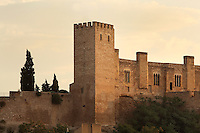 Castle of Sant Joan or La Suda, Tortosa, Tarragona, Spain. The 10th century Castle of Sant Joan was built by Muslim Caliph Abd ar-Rahman III. It was conquered in 1148 and became residence of the Montcada and Knights Templar, then a royal mansion from the 13th century. It has a 45m deep well reaching the river Ebre. Picture by Manuel Cohen
