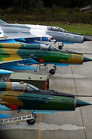 MiG-21 F  the 95th Air Force Base from the Romanian Air Force. BOLD AVENGER 2007 (BAR 07), a NATO  air exercise at Ørland Main Air Station, Norway. BAR 07 involved air forces from 13 NATO member nations: Belgium, Canada, the Czech Republic, France, Germany, Greece, Norway, Poland, Romania, Spain, Turkey, the United Kingdom and the United States of America. The exercise was designed to provide training for units in tactical air operations, involving over 100 aircraft, including combat, tanker and airborne early warning aircraft and about 1,450 personnel.