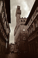 Palazzo Vecchio, The Old Palace, in the heart of Florence, Italy. 1997.