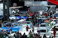 People attend the International Auto Show 2015 in New York. 04.06.2015. Eduardo MunozAlvarez/VIEWpress.