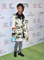 BURBANK, CA. October 22, 2016: Jaden Smith at the 26th Annual Environmental Media Awards at Warner Bros. Studios, Burbank.<br /> Picture: Paul Smith/Featureflash/SilverHub 0208 004 5359/ 07711 972644 Editors@silverhubmedia.com