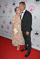 BEVERLY HILLS, CA. October 8, 2016: Maureen McCormick &amp; Michael Cummings at the 2016 Carousel of Hope Ball at the Beverly Hilton Hotel.<br /> Picture: Paul Smith/Featureflash/SilverHub 0208 004 5359/ 07711 972644 Editors@silverhubmedia.com