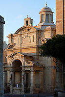 Oblique view of the Chapel of Italy, St John's Co-Cathedral, 1571-77, Valletta, Malta, pictured on June 7, 2008, in the afternoon. The Republic of Malta consists of seven islands in the Mediterranean Sea of which Malta, Gozo and Comino have been inhabited since c.5,200 BC. Nine of Malta's important historical monuments are UNESCO World Heritage Sites, including  the capital city, Valletta, also known as the Fortress City. Built in the late 16th century and mainly Baroque in style it is named after its founder Jean Parisot de Valette (c.1494-1568), Grand Master of the Order of St John. Designed by Girolamo Cassar after the Great Siege of 1565, the cathedral houses chapels for the 8 langues, or sections, of the Knights of St John. The Italian Chapel is dedicated to St Catherine. Picture by Manuel Cohen.