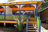 Guest cabin at the Arenas Beach hotel on Big Corn Island, Nicaragua