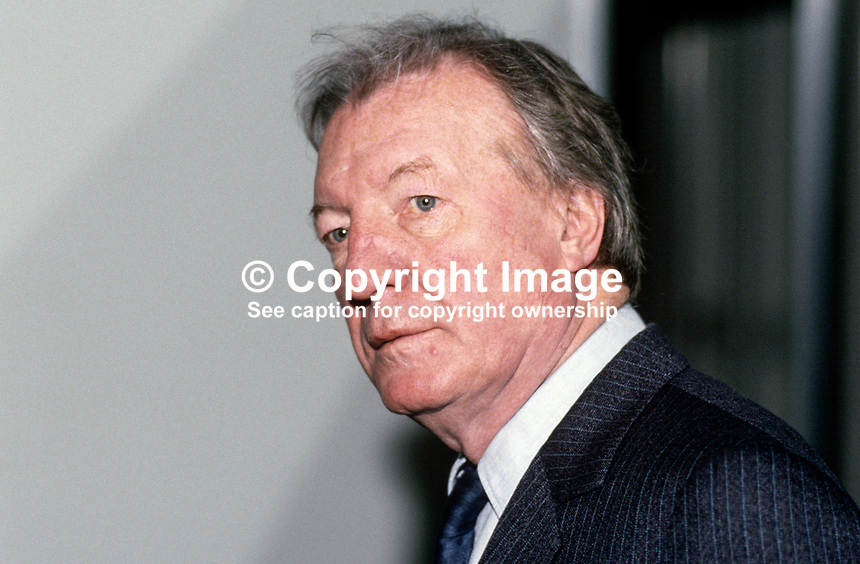 Charles J Haughey, Taoiseach, Prime Minister, Rep of Ireland, TD, Fianna Fail, Ard Fheis, 19880204CJH4..Copyright Image from Victor Patterson, 54 Dorchester Park, Belfast, UK, BT9 6RJ..Tel: +44 28 9066 1296.Mob: +44 7802 353836.Voicemail +44 20 8816 7153.Skype: victorpattersonbelfast.Email: victorpatterson@me.com.Email: victorpatterson@ireland.com (back-up)..IMPORTANT: If you wish to use this image or any other of my images please go to www.victorpatterson.com and click on the Terms & Conditions. Then contact me by email or phone with the reference number(s) of the image(s) concerned.