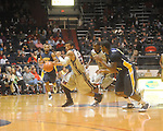 "Ole Miss guard Trevor Gaskins (23)  at the C.M. ""Tad"" Smith Coliseum in Oxford, Miss. on Wednesday, November 17, 2010."