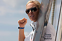 3rd August 2010 . Cowes. Isle of Wight. Artemis Challenge..Pictures of Zara Phillips  on board the Artemis Ocean Racing Team, Helmsman Simon Hiscocks (GBR)..Mandatory credit: Lloyd Images