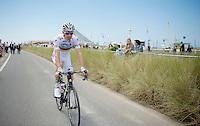 Rui Costa (POR/Lampre-Merida) to the start<br /> <br /> 2014 Tour de France<br /> stage 4: Le Touquet-Paris-Plage/Lille M&eacute;tropole (163km)