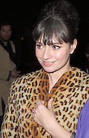 Gizzi Erskine spotted arriving at Somerset House, London on 15 February for the PPQ event which was part of London Fashion Week  LFW  Autumn Winter 2013 Show. Paparazzi Photos