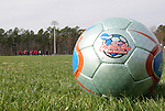 08 December 2005: The Southern Methodist University Mustangs practice at SAS Stadium in Cary, North Carolina in preparation for the NCAA Men's Division I College Cup semifinals to be played the following day.