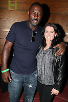 NO REPRO FEE. 14/9/2010. launch of Halo: Reach. Pictured at the Odeon Dublin for the launch of Halo: Reach are Idris Elba, star of HBO's The Wire (Stringer Bell) and Susan Flynn. Halo: Reach tells the tragic and heroic story of Noble Team, a group of Spartans, who through great sacrifice and courage, saved countless lives in the face of impossible odds. Picture James Horan/Collins Photos