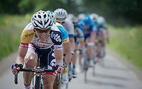 Lars Bak (DNK)<br /> <br /> 2013 Ster ZLM Tour <br /> stage 4: Verviers - La Gileppe (186km)