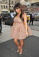 Kim Kardashian wears three different maternity outfits in one day - New York