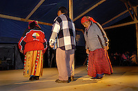 Elder first nation Innus gathering, Lac Saint-Jean, Quebec