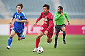 Takeshi Aoki (Antlers), APRIL 19, 2011 - Football : AFC Champions League 2011 Group H, between Kashima Antlers 1-1 Suwon Samsung Bluewings at National Stadium, Tokyo, Japan. The game started at 2pm on Tuesday afternoon in Tokyo as Kashima are unable to use their home stadium as a result of the earthquake and tsunami that hit the east coast of Japan on March 11th 2011 and due to the ongoing nuclear crisis in Fukushima which has reduced the electricity supply to the region meaning that floodlit night games cannot be justified. (Photo by Jun Tsukida/AFLO SPORT) [0003]