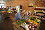 Jo Prestage shops at BTC Grocery in Water Valley, Miss. on Wednesday, June 9, 2010.
