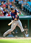 5 September 2009: Minnesota Twins' right fielder Michael Cuddyer in action against the Cleveland Indians at Progressive Field in Cleveland, Ohio. The Twins defeated the Indians 4-1 in the second game of their three-game weekend series. Mandatory Credit: Ed Wolfstein Photo