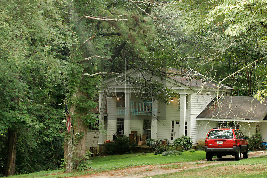 The home of Wex Karr, father of John Mark Karr, who once said he was the person who killed six-year-old JonBenet Ramsey.
