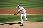 CHICAGO - SEPTEMBER 29:  Chris Sale #49 of the Chicago White Sox pitches against the Tampa Bay Rays on September 29, 2012 at U.S. Cellular Field in Chicago, Illinois.  (Photo by Ron Vesely)  Subject:  Chris Sale