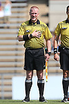 23 August 2015: Assistant Referee Scott Bowers. The Duke University Blue Devils played the Weber State University Wildcats at Fetzer Field in Chapel Hill, NC in a 2015 NCAA Division I Women's Soccer game. Duke won the game 4-0.