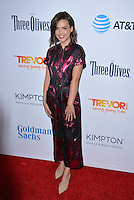 BEVERLY HILLS, CA. December 4, 2016: Ingrid Nilsen at the 2016 TrevorLIVE LA Gala at the Beverly Hilton Hotel.<br /> Picture: Paul Smith/Featureflash/SilverHub 0208 004 5359/ 07711 972644 Editors@silverhubmedia.com