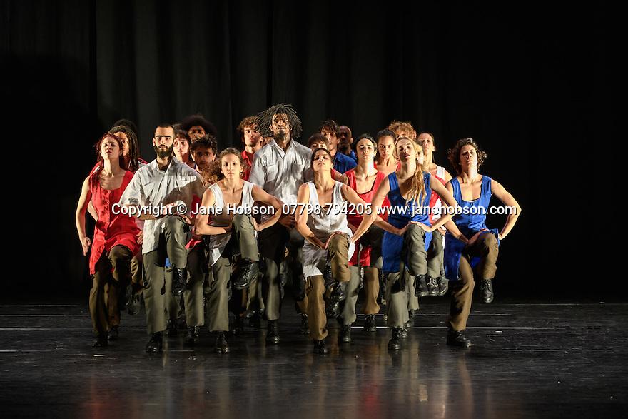 "Dance Consortium presents Danza Contemporanea de Cuba, in the Barbican Hall, as part of their UK tour 2017. The piece shown, ""Matria Etnocentra"", choreographed by George Céspedes, is the third part of a triple bill, which also includes ""reversible"", choreographed by Annabelle Lopez Ochoa, and ""The Listening Room"", choreographed by Theo Clinkard. The dancers are: Anabel Pomar, Andrés Ascanio, Arelys Hernández, Arlet A. Fernández, Claudia H. Rodríguez, Danny Rodríguez, Dayron Romero, Esven C. González, Heriberto Meneses, Iliana Solís, Iosmaly Ordoñez, Javier A. Aguilera, Jennifer Tejeda, José A. Elias, Laura Ríos, Leyna González, Maikel Pons, Niosbel O. González, Norge Cedeño, Penélope Morejón, Raúl Barrera, Stephanie Hardy, Thais Suárez, Víctor M. Varela."
