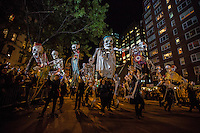2016 annual Greenwich Village Halloween Parade