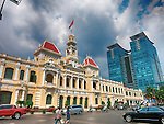 Peoples Committee Building, Ho Chi Minh City; Vietnam
