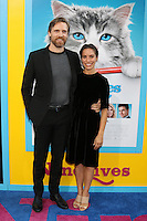 HOLLYWOOD, CA - AUGUST 01: Teddy Sears, Milissa Skoro at the film premiere for 'Nine Lives' at the TCL Chinese Theatre on August 1, 2016 in Hollywood, California. Credit: David Edwards/MediaPunch