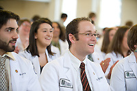 White Coat Ceremony, class of 2015. Bemjamin Brown.