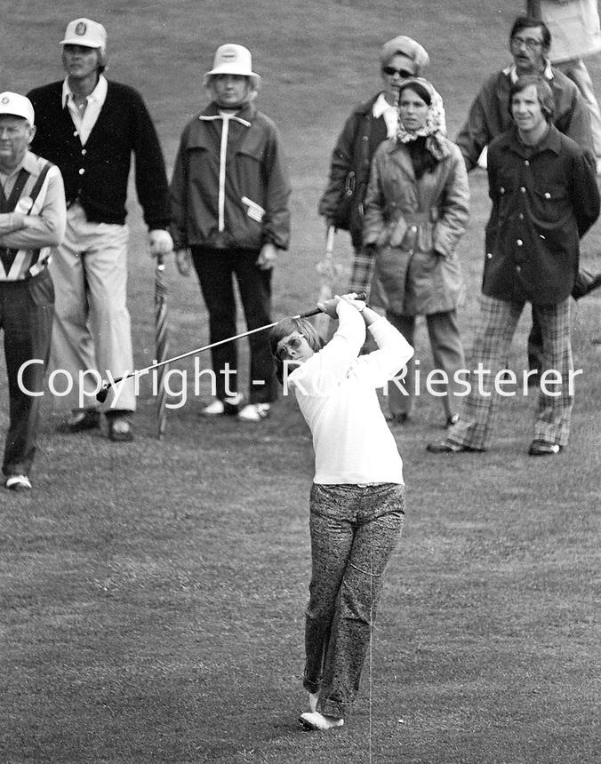 LPGA at Round Hill CC....1973<br /> Sandra Haynie<br /> (Ron Riesterer/photo)