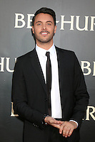 "HOLLYWOOD, CA - AUGUST 16: Jack Huston at the LA Premiere of the Paramount Pictures and Metro-Goldwyn-Mayer Pictures title ""Ben-Hur"", at the TCL Chinese Theatre IMAX on August 16, 2016 in Hollywood, California. Credit: David Edwards/MediaPunch"