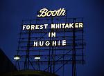 'Hughie' - Theatre Marquee
