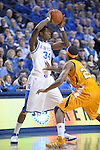 UK's DeAndre Liggins controls the ball during the first half of the University of Kentucky Men's basketball game against Tennessee at Rupp Arena in Lexington, Ky., on 2/8/11. Uk led at half 35-28. Photo by Mike Weaver | Staff
