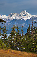 Mt Gilbert,  Chugach mountains, Chugach National Forest, Prince William Sound, southcentral, Alaska.