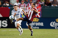CD Chivas USA defeated the San Jose Earhquakes 2-0 during a MLS game at Home Depot Center stadium in Carson, California on July 6, 2011....