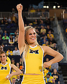 The University of Michigan women's basketball team lost to No. 24 Nebraska, 39-57, at Crisler Center in Ann Arbor, Mich., on February 21, 2013.