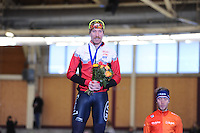 SPEEDSKATING: BERLIN: Sportforum Berlin, 28-01-2017, ISU World Cup, 5000m Men A Division, winner Ted-Jan Bloemen (CAN), ©photo Martin de Jong