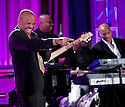 Chicago, IL - November 17, 2012: Berry Gordy, the founder of Motown records greets the audience before being interviewed for The HistoryMakers taping.