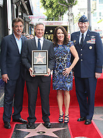 HOLLYWOOD, CA - April 17: Joe Mantegna, Gary Sinise, Patricia Heaton, USAF General Robin Rand, At Gary Sinise Honored With Star On The Hollywood Walk Of Fame At The Hollywood Walk Of Fame  In California on April 17, 2017. <br /> CAP/MPI/FS<br /> &copy;FS/MPI/Capital Pictures