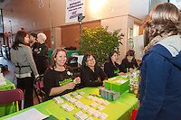 FoodShare's Student Nutrition program staff at FoodShare Toronto's Recipe for Change, February 28,  2013